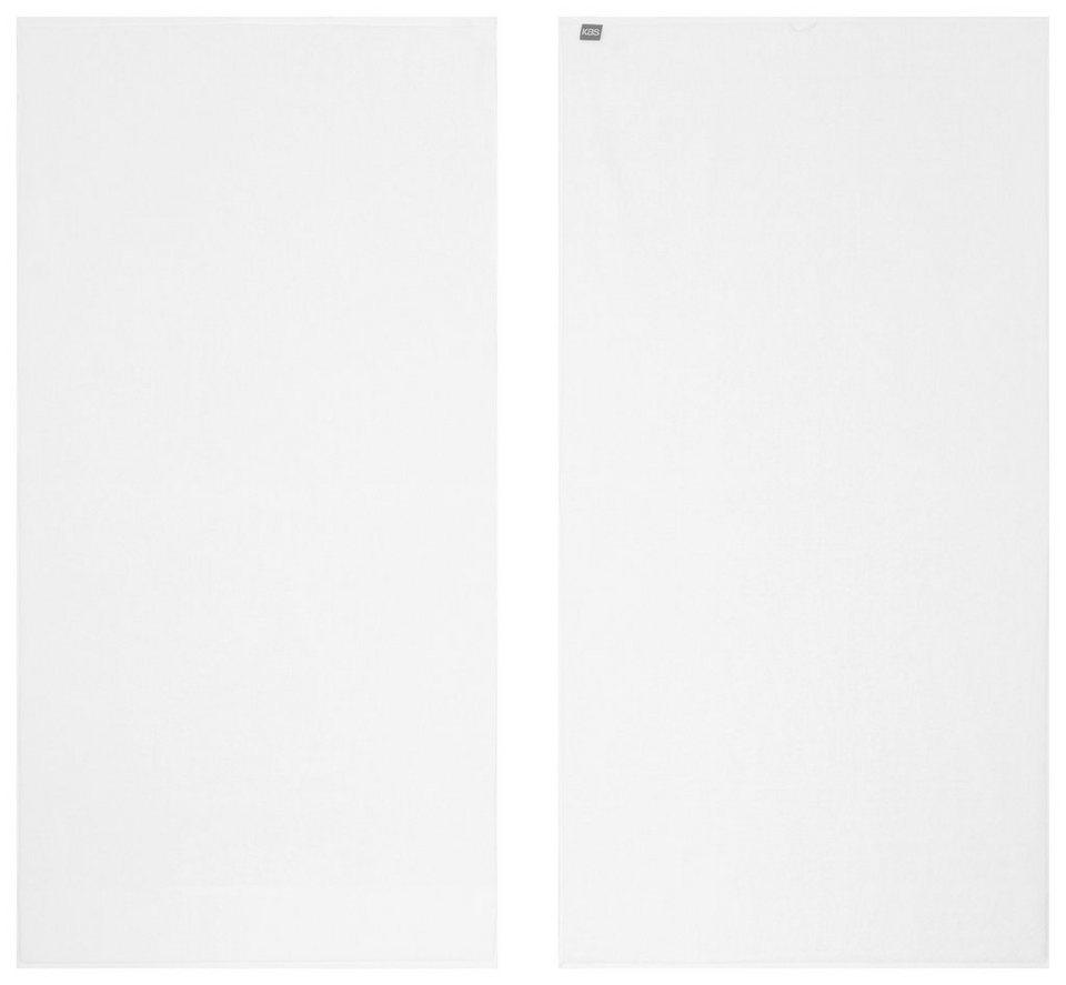 Saunatuch, KAS, »Soft«, mit leuchtenden Farben in weiß