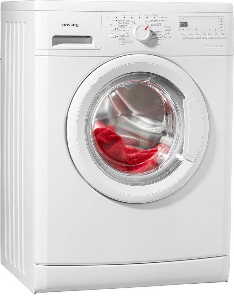 Privileg Waschmaschine PWF 6645, A++, 6 kg, 1400 U/Min
