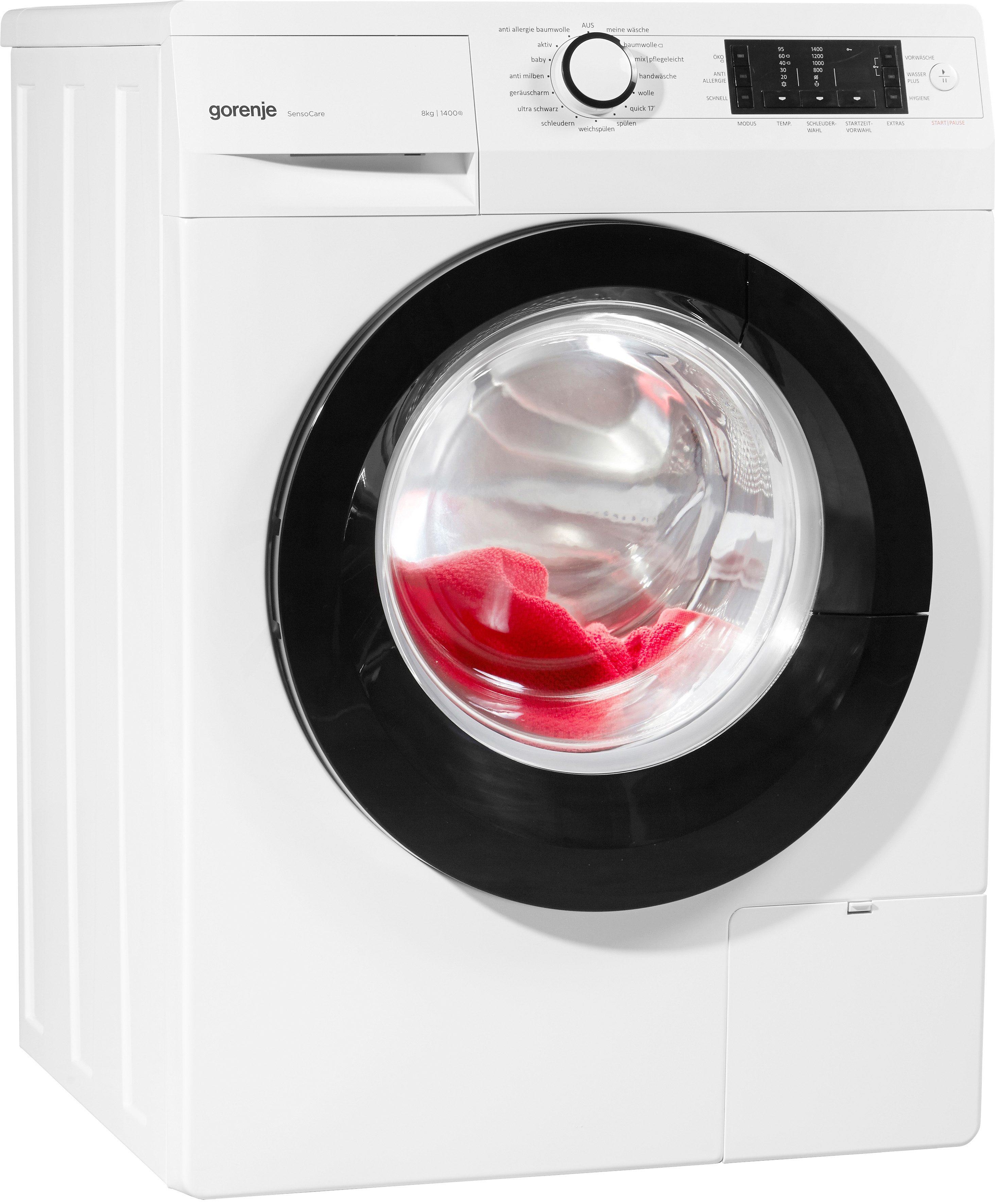 GORENJE Waschmaschine W 8 ECO, A+++, 8 kg, 1400 U/Min