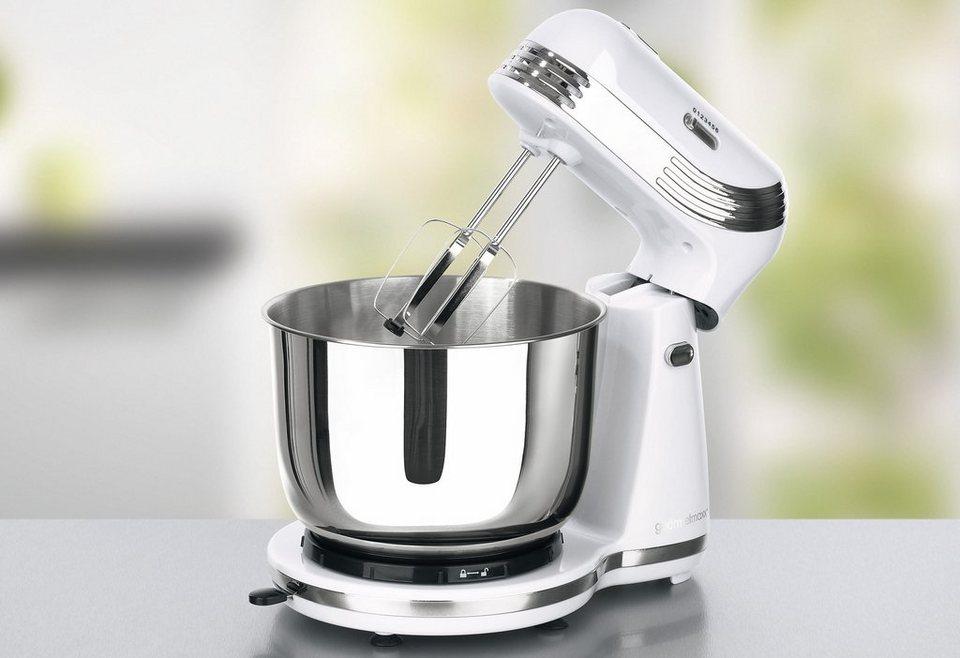 gourmetmaxx Küchenmaschine Classico, 250 Watt, weiß in weiß