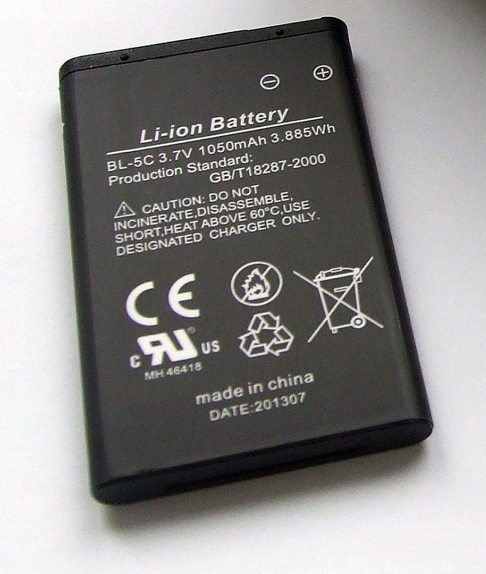 Telefunken Ersatz- oder Zweit-Akku »Lithium-Akku für Action Camera FHD170/5«