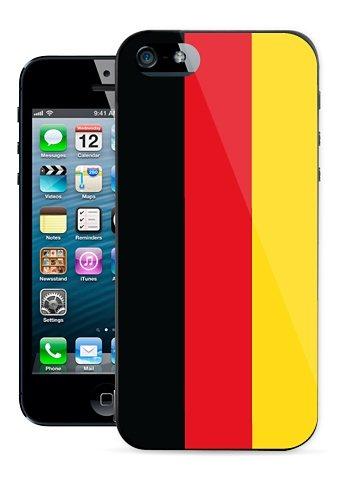 Diverse HardCase »Stars Flagge iPhone (5/5S)« in schwarz
