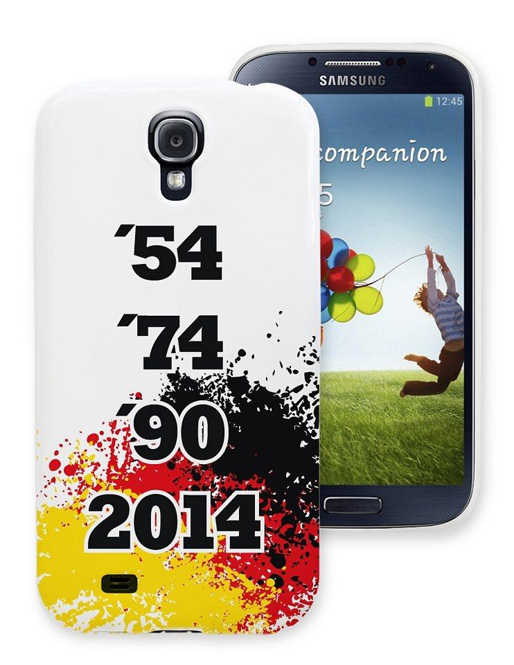 Diverse TPU-Case »Stars 54-2014 Samsung Galaxy S4« in schwarz