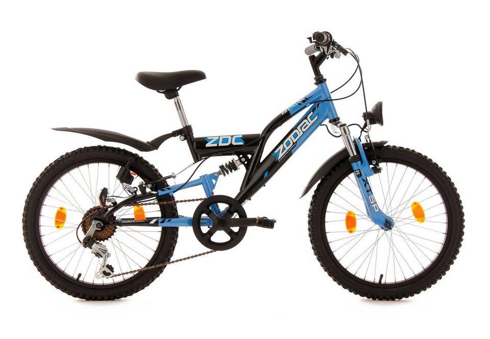KS Cycling Jugendfahrrad »Zodiac«, 6 Gang Shimano Tourney Schaltwerk ...