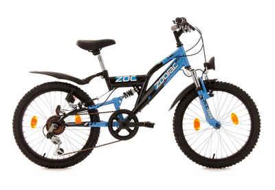 KS Cycling Jugendfahrrad »Zodiac«, 6 Gang Shimano Tourney Schaltwerk, Kettenschaltung