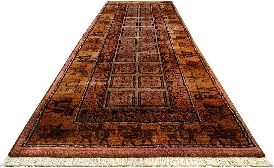 Orient Läufer , Oriental Weavers, »Gabiro« Pazyryk, gewebt in dunkel