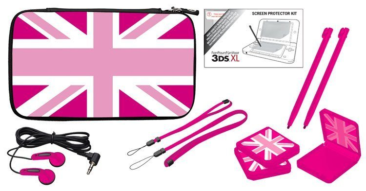 BIGBEN Full Pack Essential XL - UK Girlie (pink) »(3DS)«