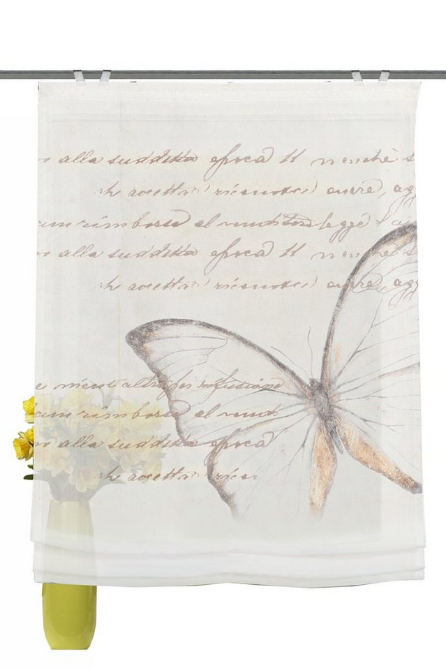 Raffrollo, Home Wohnideen, »Avonia« (1 Stück) in beige