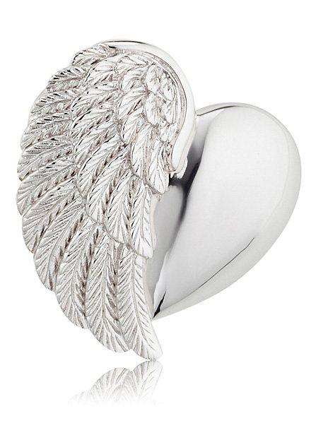 Engelsrufer Herzanhänger »With love, HERZ FLÜGEL SILBER, ERP-HEARTWING« | Schmuck > Halsketten > Herzketten | Silber | Engelsrufer