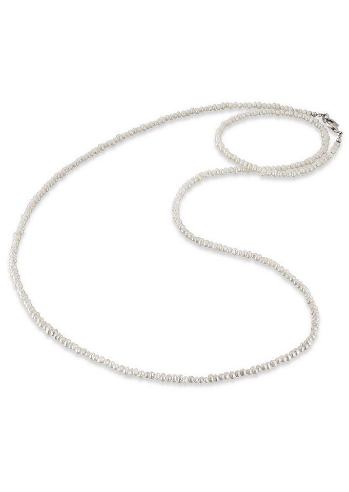 Kette, »ERN-80-PE«, Engelsrufer in Silber 925, weiß