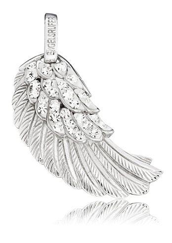 Engelsrufer Kettenanhänger »Flügel Crystal, ERW-01-ZI« mit Preciosa Crystals in Silber 925