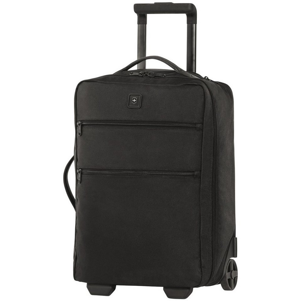 Victorinox Lexicon Ultra-Light Carry-On 2-Rollen Kabinentrolley 51 cm in black