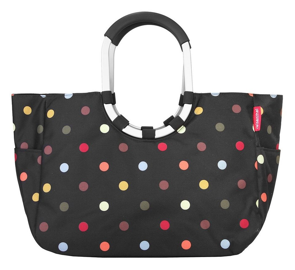 REISENTHEL® Loopshopper L »dots« in schwarz