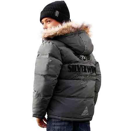 CFL Winterjacke mit großer Applikation auf dem Rücken