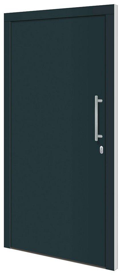 RORO TÜREN & FENSTER Aluminium-Haustür »Otto 1«, BxH: 100x210 cm,  anthrazit/weiß, ohne Griff online kaufen | OTTO