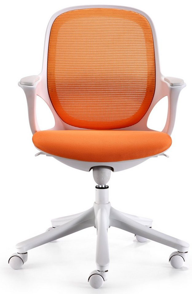 Amstyle Chefsessel »MAGLO« in orange-weiss