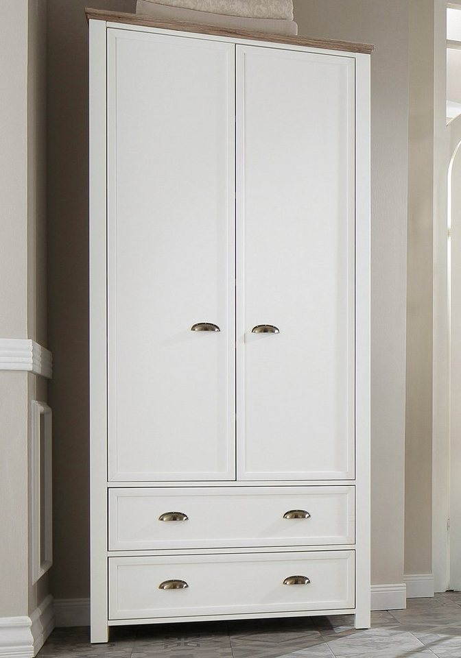 garderobenschrank home affaire chateau 2 t rig online. Black Bedroom Furniture Sets. Home Design Ideas