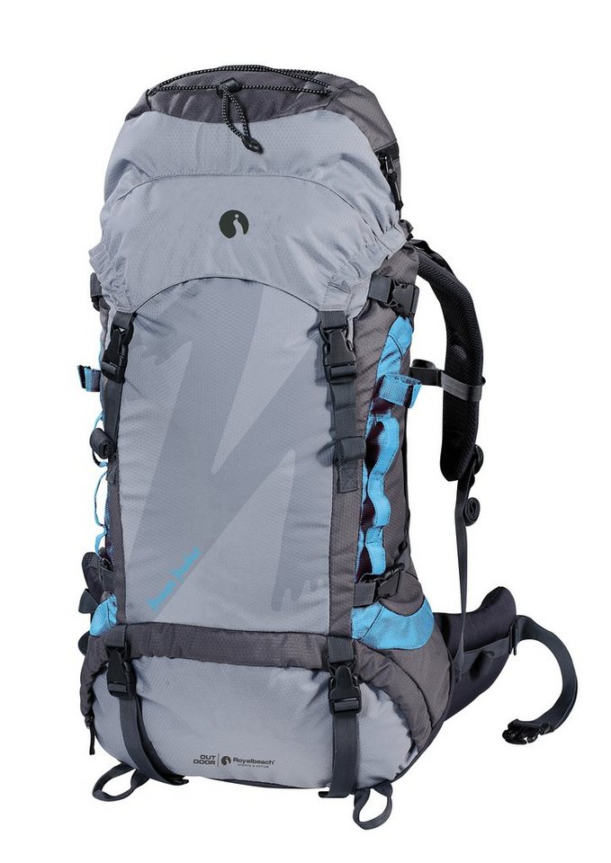 B.O.B. (sadrzaj) Wanderrucksack-nanga-parbat-60plus10-royalbeach-outdoor-grau-blau