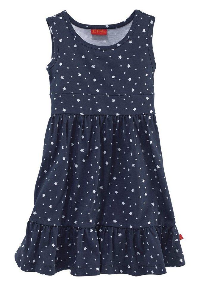 CFL Kleid & Haarband mit Sternendruck (Set, 2-tlg.), für Mädchen in Marine-Bedruckt
