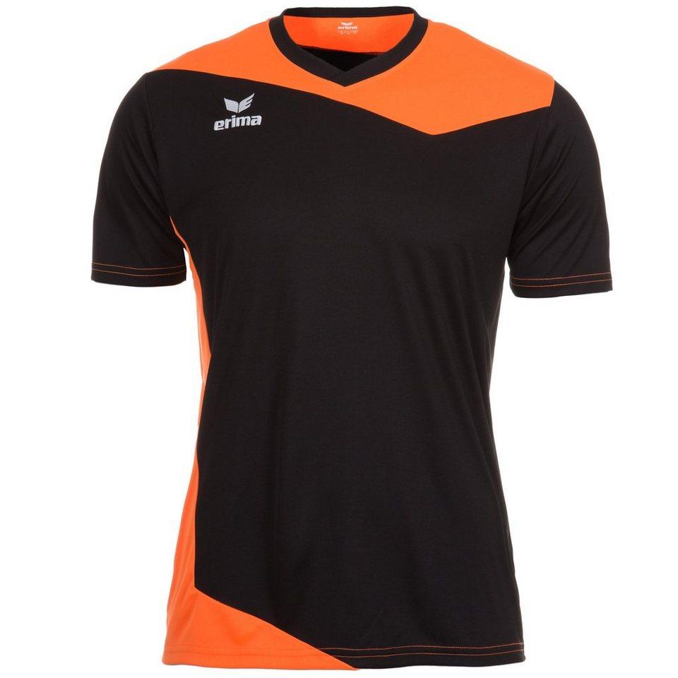 ERIMA GLASGOW Trikot Herren in schwarz/neon orange