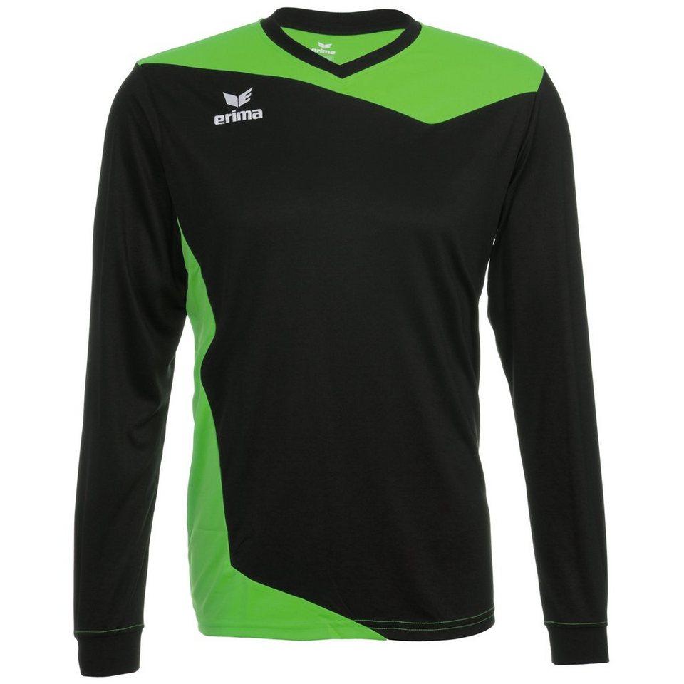 ERIMA GLASGOW Langarm Trikot Herren in schwarz/green