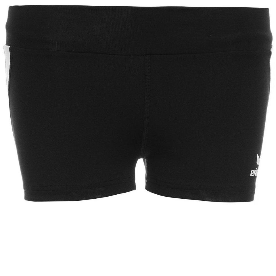 ERIMA Hot Pant Damen in schwarz/weiß