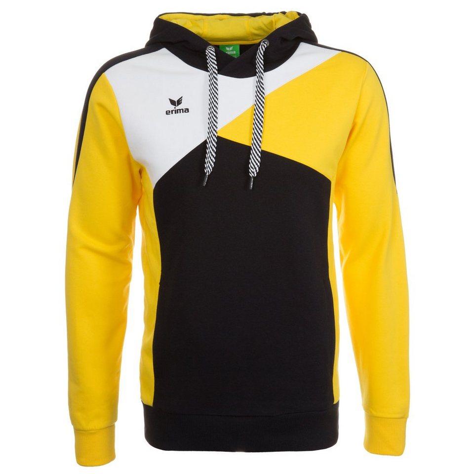 ERIMA Hoodie Herren in schwarz/gelb/weiß