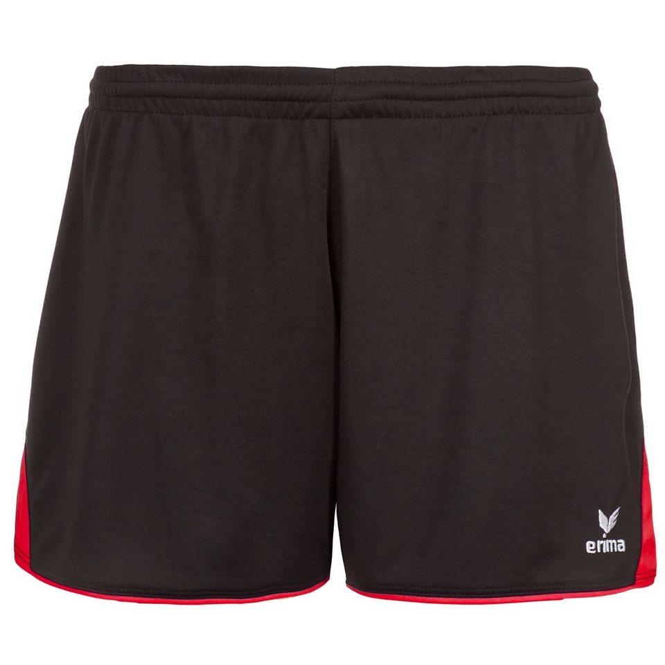 ERIMA 5-CUBES Short Damen in schwarz/rot