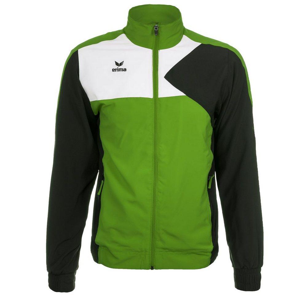 ERIMA Premium One Präsentationsjacke Herren in green/schwarz/weiß