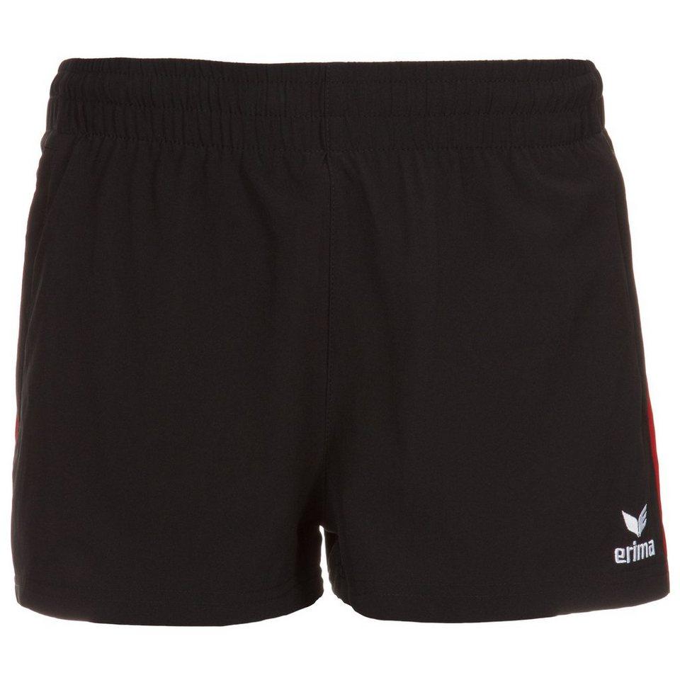 ERIMA Premium One Short Damen in schwarz/rot