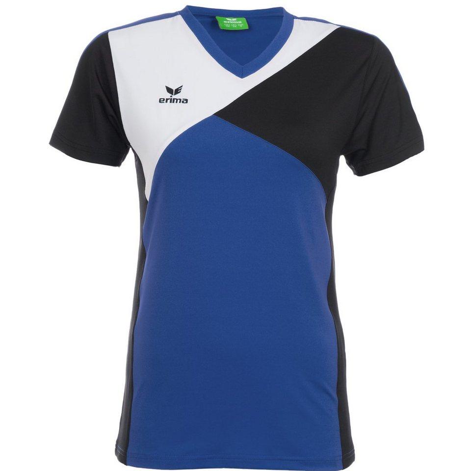 ERIMA Premium One T-Shirt Damen in new royal/schwarz