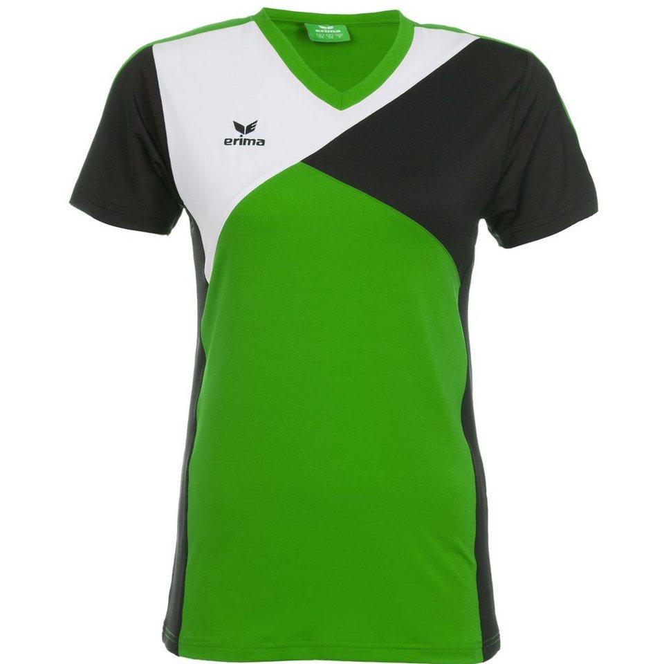 ERIMA Premium One T-Shirt Damen in green/schwarz/weiß
