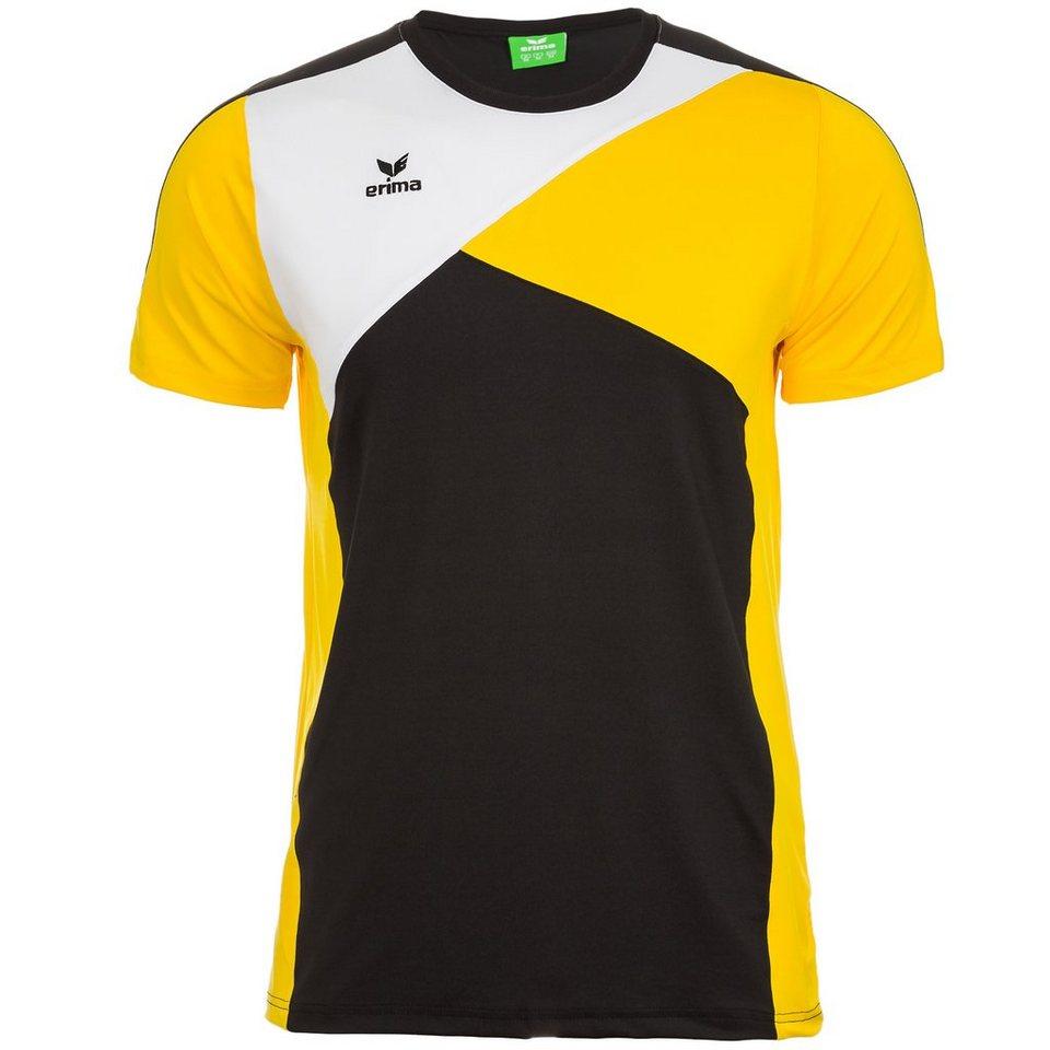 ERIMA Premium One T-Shirt Damen in schwarz/gelb/weiß