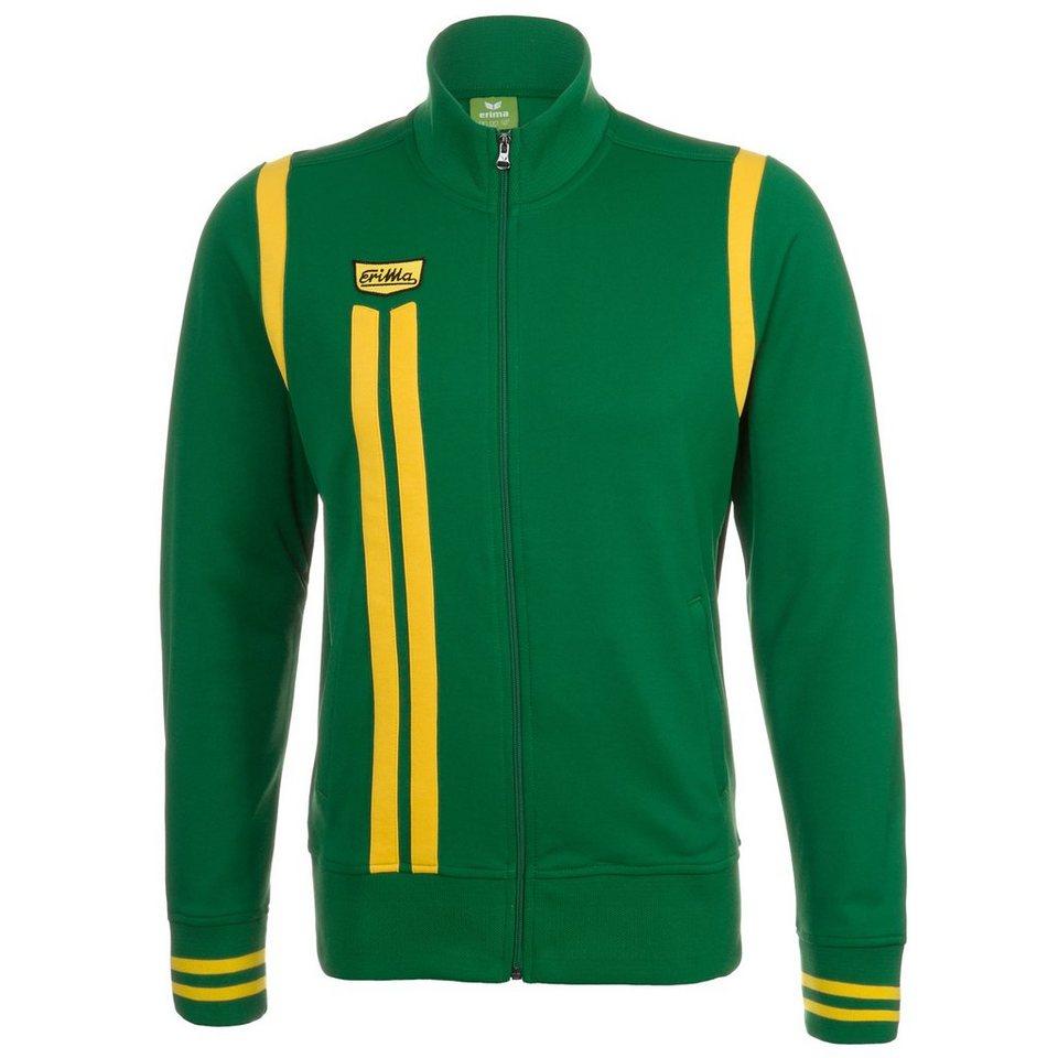 ERIMA Retro Jacket Damen in smaragd/gelb