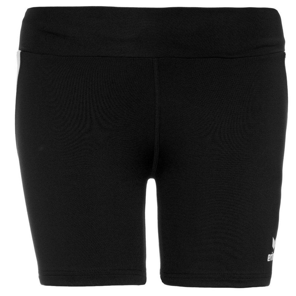ERIMA Short Tight Damen in schwarz/weiß