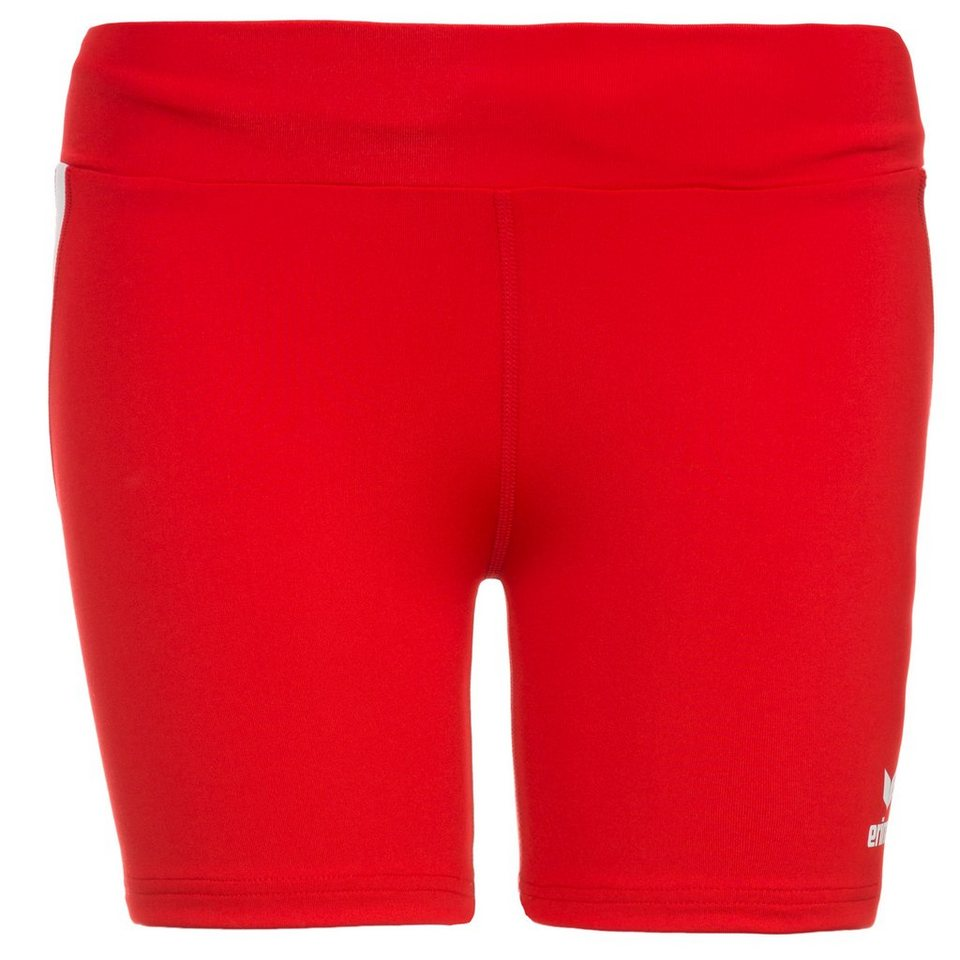 ERIMA Short Tight Damen in rot/weiß
