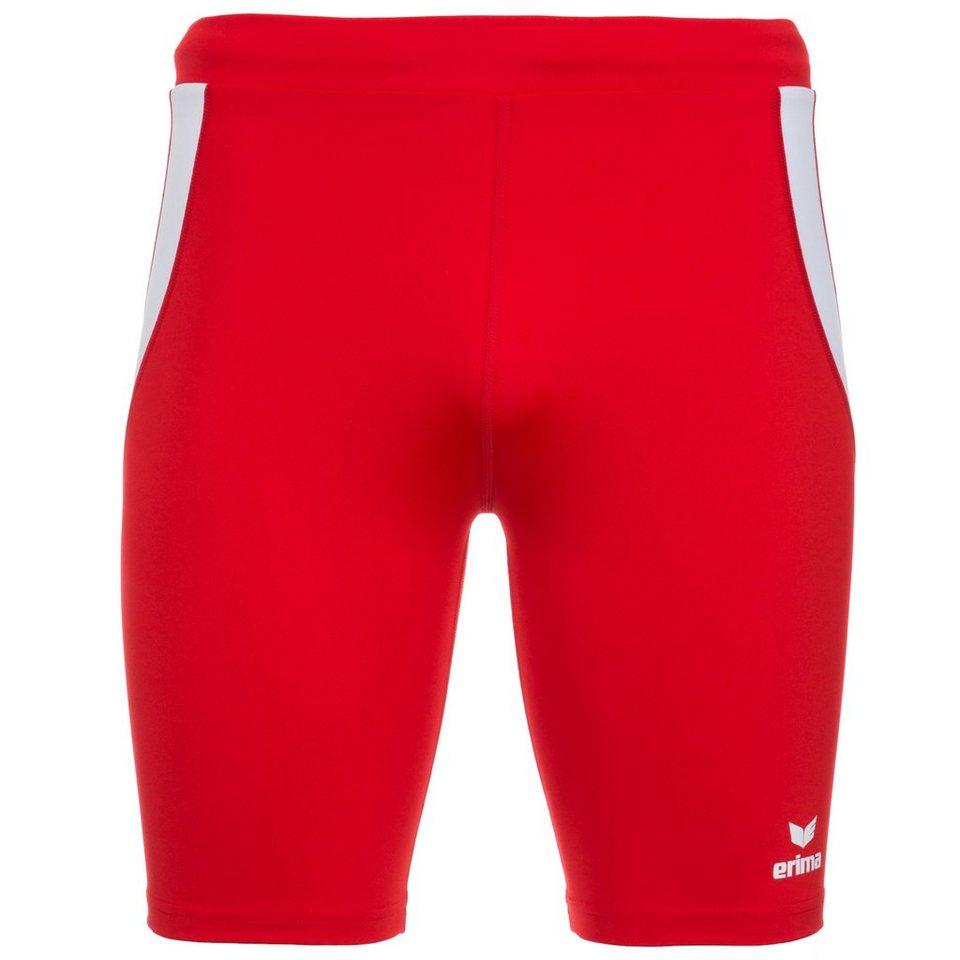 ERIMA Short Tight Herren in rot/weiß