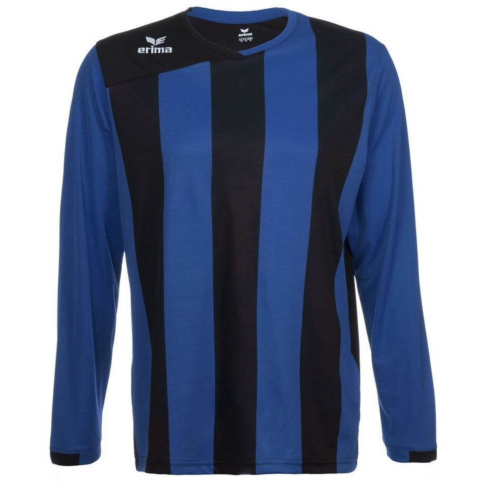 ERIMA SIENA 2.0 Langarm Trikot Kinder in new royal/schwarz