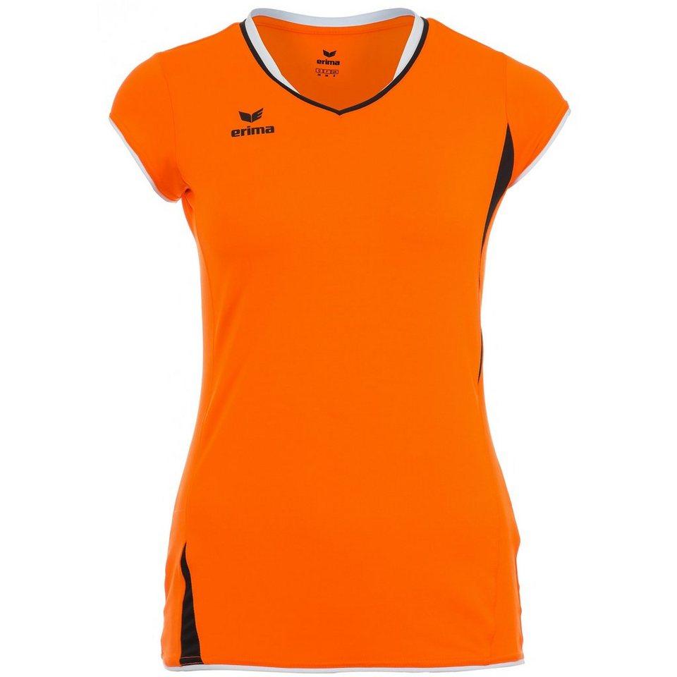 ERIMA Club 1900 Tank Top Damen in neon orange/schwarz
