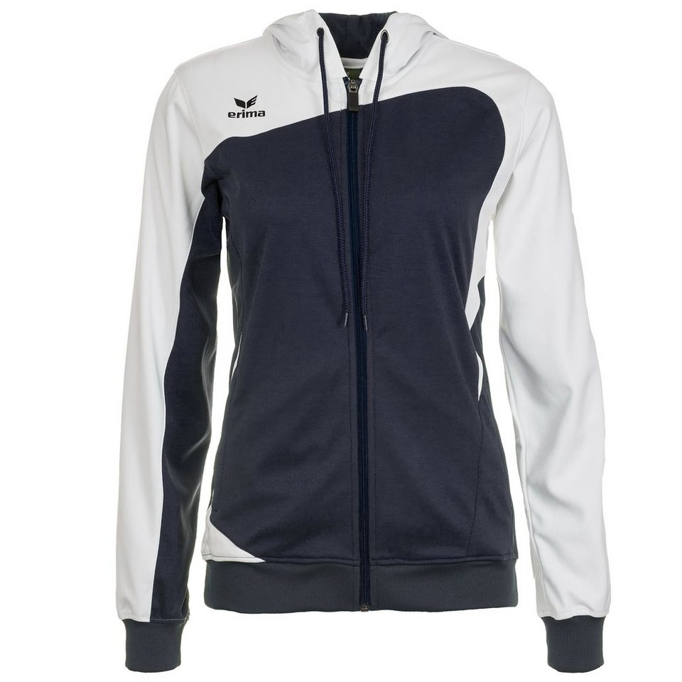 ERIMA Club 1900 Trainingsjacke mit Kapuze Damen in new navy/weiß