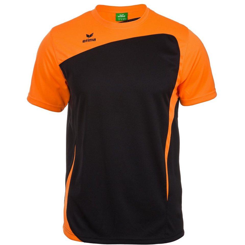 ERIMA CLUB 1900 T-Shirt Herren in schwarz/neon orange
