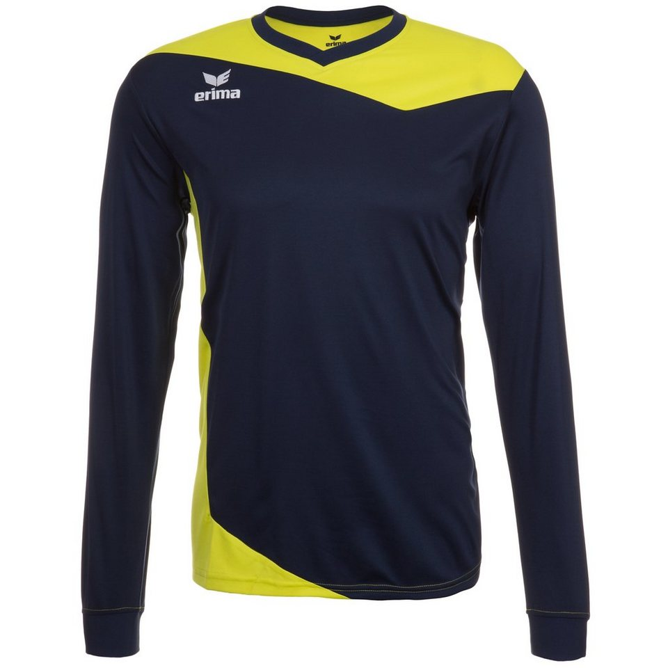ERIMA GLASGOW Langarm Trikot Herren in new navy/lime