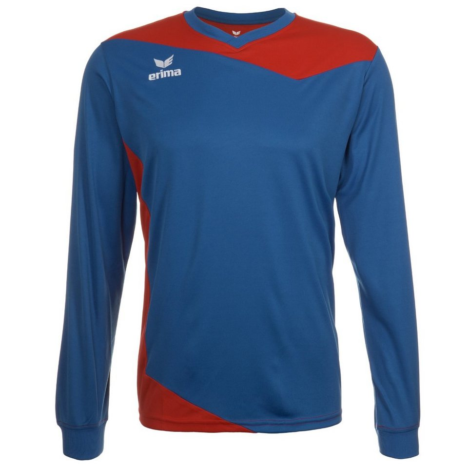 ERIMA GLASGOW Langarm Trikot Kinder in new royal/rot