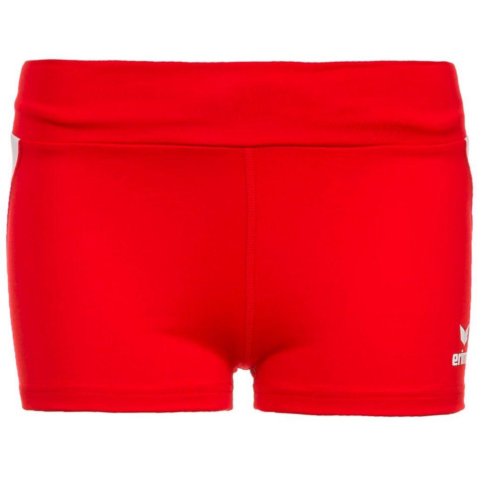 ERIMA Hot Pant Damen in rot/weiß