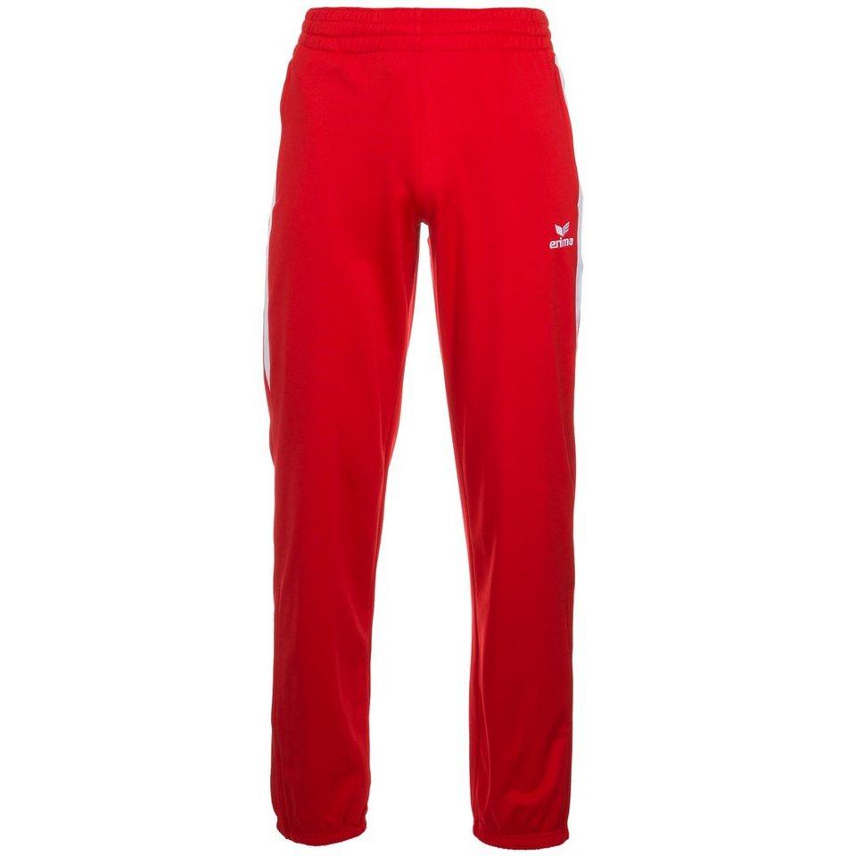 ERIMA Premium One Polyesterhose Herren in rot/weiß