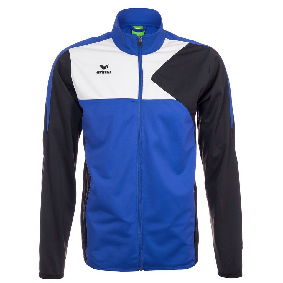 ERIMA Premium One Polyesterjacke Herren in new royal/schwarz