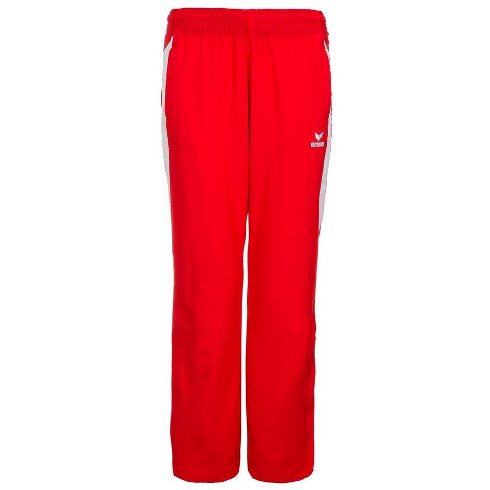 ERIMA Premium One Präsentationshose Damen in rot/weiß