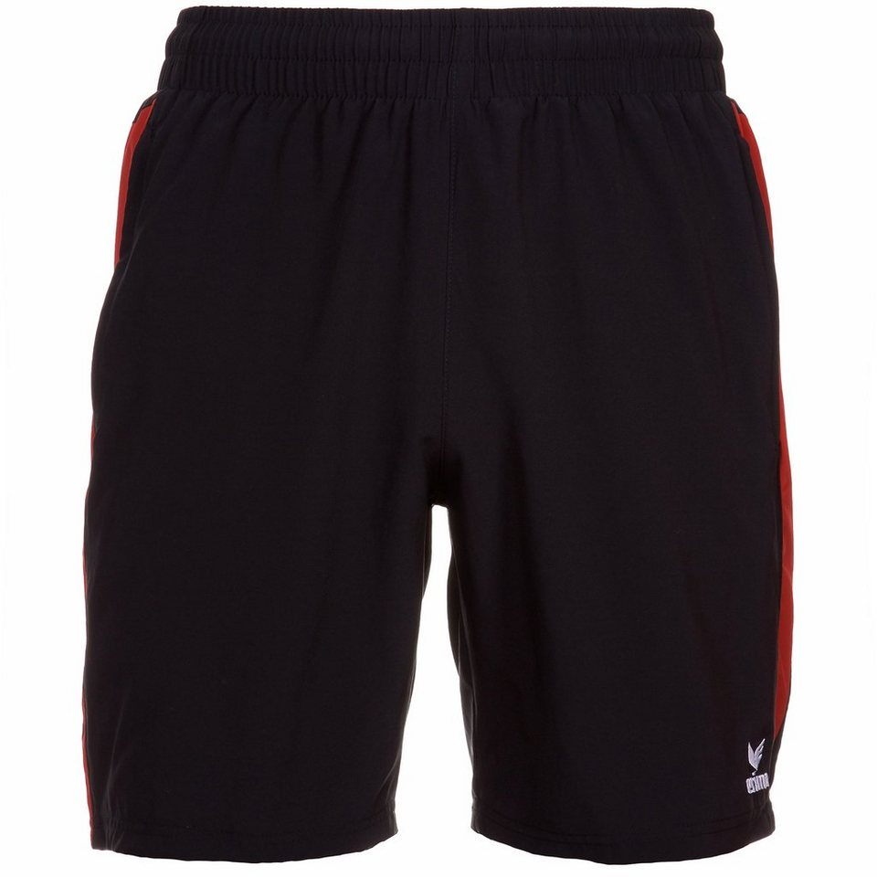 ERIMA Premium One Short Herren in schwarz/rot