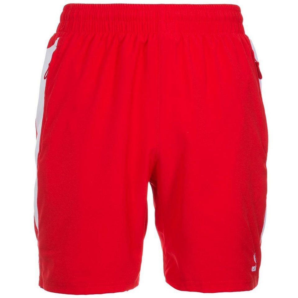ERIMA Premium One Short Kinder in rot/weiß