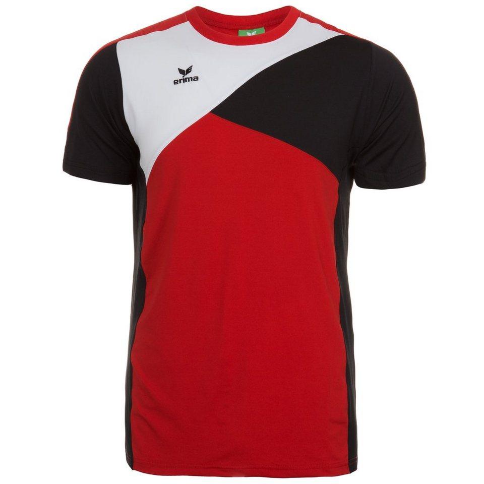 ERIMA Premium One T-Shirt Herren in rot/schwarz/weiß